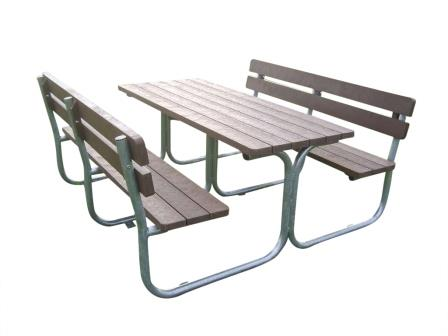 Park udstyr.dk   bord og bænkesæt vedligeholdelsesfri, parkbænk ...
